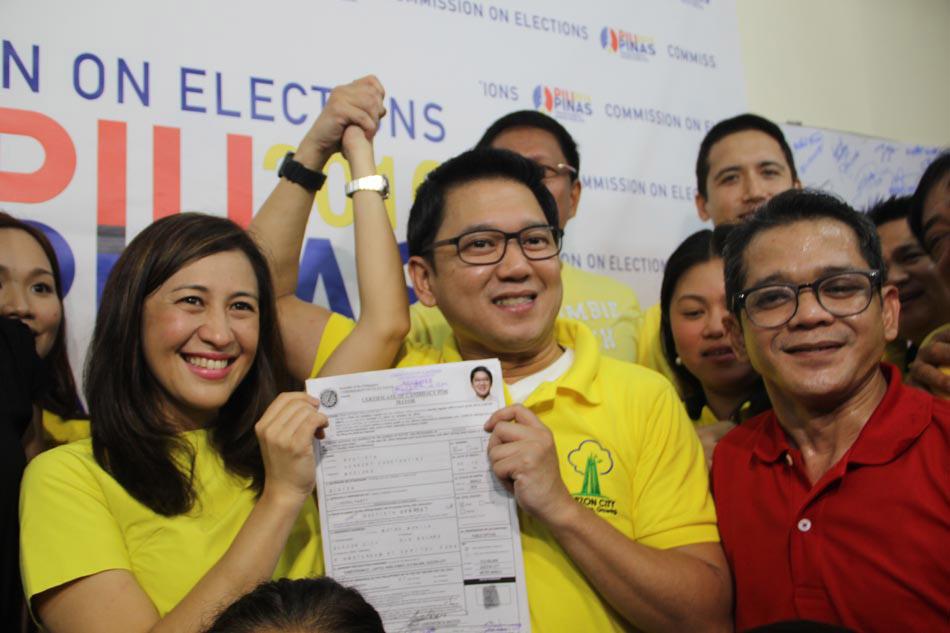 IN PHOTOS: Bistek, Edu lead celebrity candidates 3