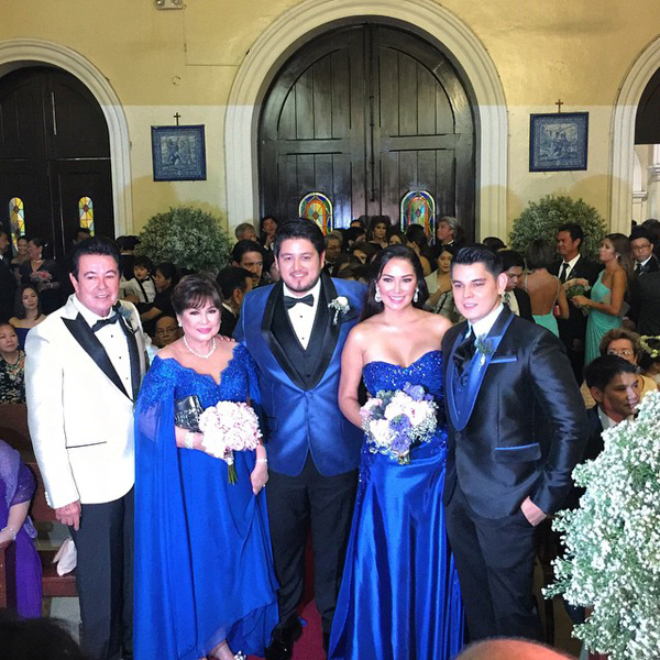 IN PHOTOS: A star-studded Gutierrez wedding | ABS-CBN News