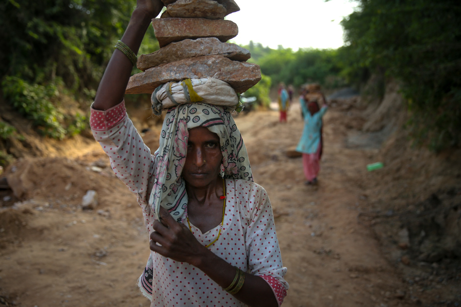 Why women in this Indian village are taking on jobs for men;