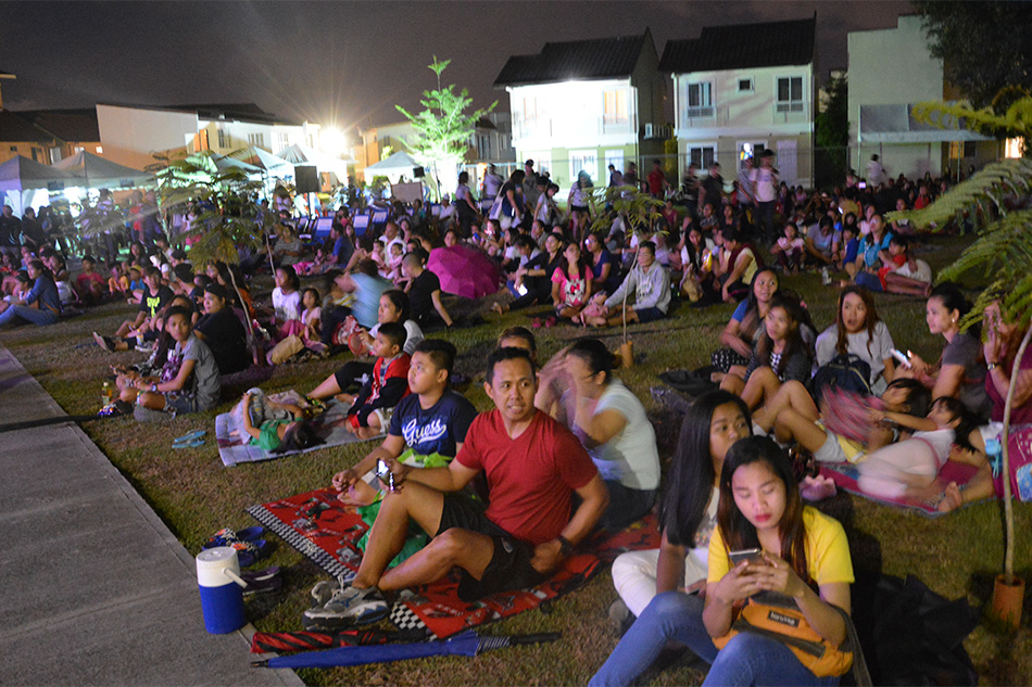Lancaster New City holds open-air movie screening