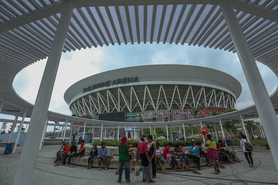 PHOTOS: Inside the Philippine Arena | ABS-CBN News