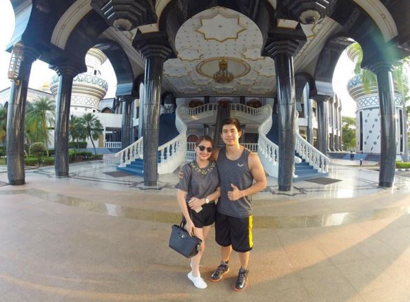LOOK: Celeb couples go on vacation in Brunei