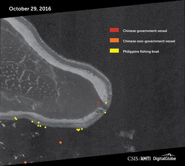 China still blocking access to Scarborough Shoal, says think tank 1