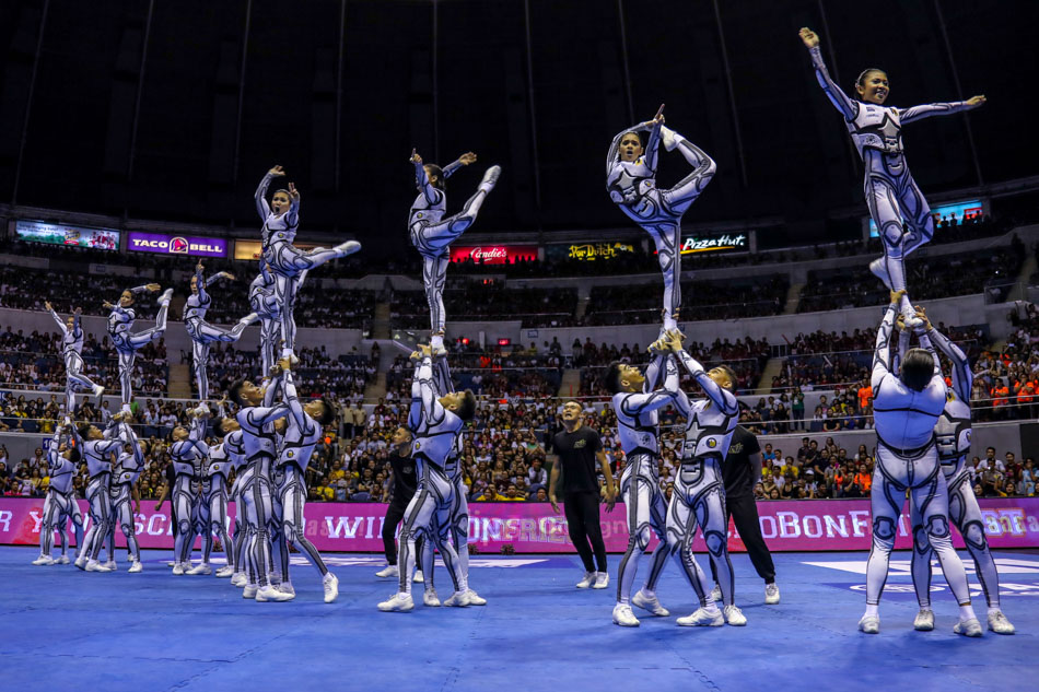 NU, FEU, Adamson shine at UAAP Cheerdance Competition